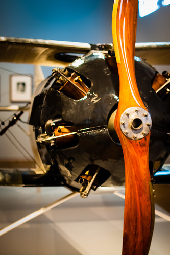 FK 23 Bantam Biplane manufactured by the British Aerial Transport Company- wood, plywood metal linen 1918, Rijksmuseum, Amsterdam