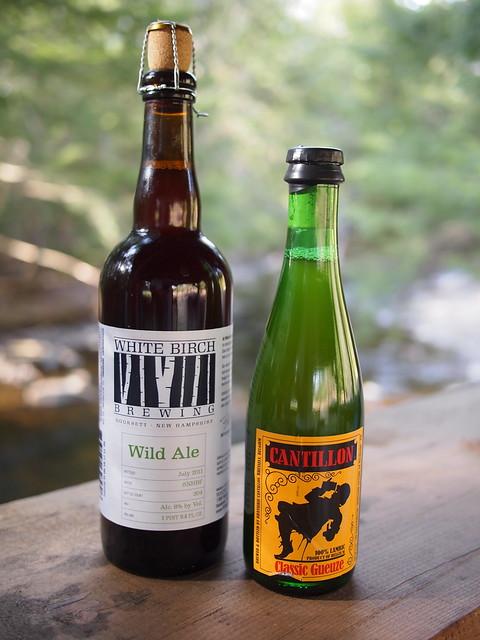 White Birch Wild Ale and Cantillon Gueuze
