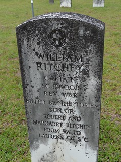 "William Ritchey ""Killed by the Tories"""