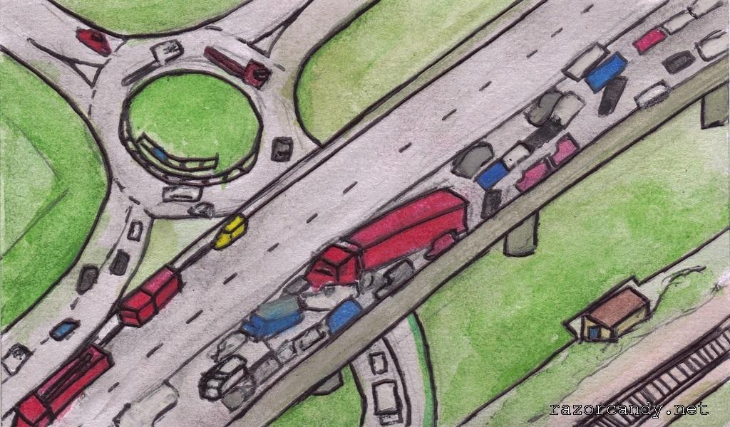 05-09-2013 Bitesize News - 120-Car Pile-Up
