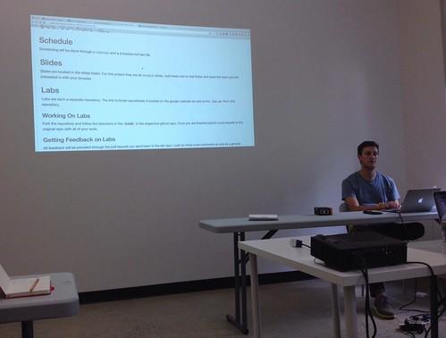 Kickoff of the Flatiron School iOS Course