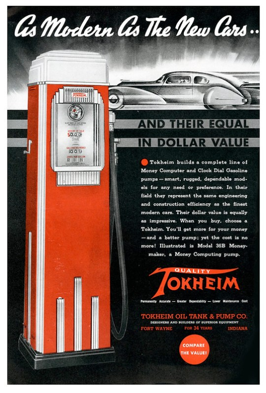 Tokheim Oil Tank and Pump Co. - 1936