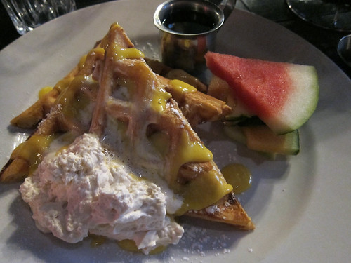 Creamsicle Waffles