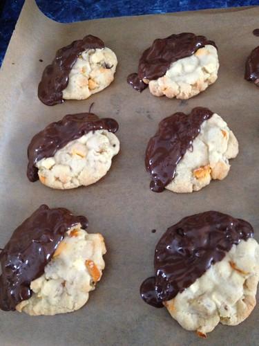 Valencia orange cookies