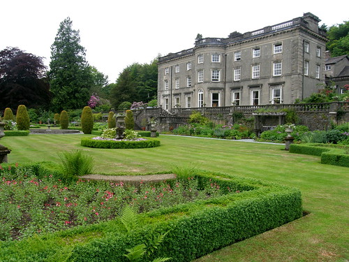 Rydal Hall and garden