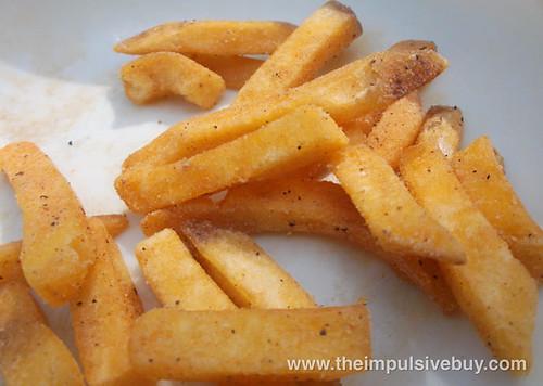 Ruffles Cheese Crispy Fries Closeup