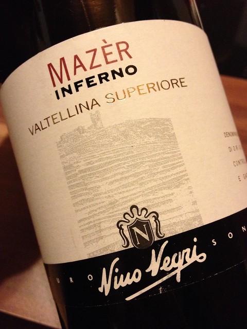 2007 Mazèr Inferno Valtellina Superiore DOCG, Nino Negri (Chiuro)