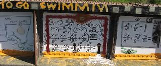 Maths graffiti