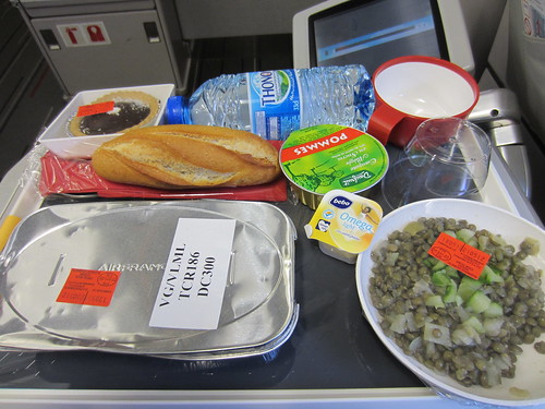 airfrance is good at meals.