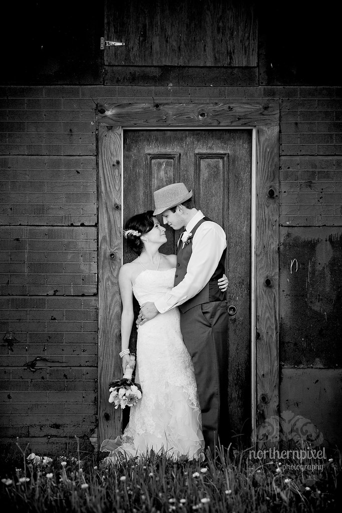 Barn Door Prince George BC Wedding