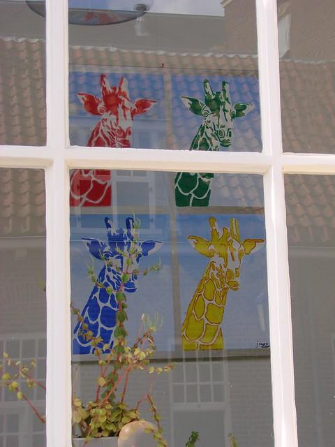Warhol Giraffe