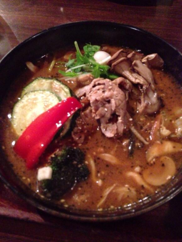 7種の野菜スープカレー@GARAKU