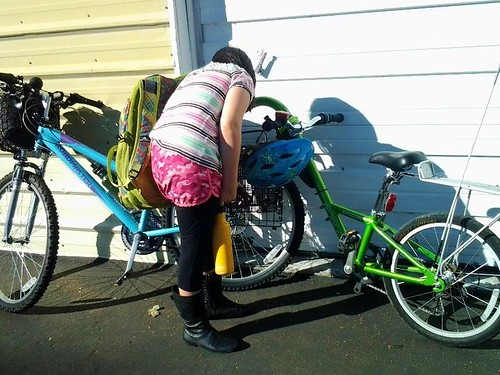 Seperating Piccolo and towed bike