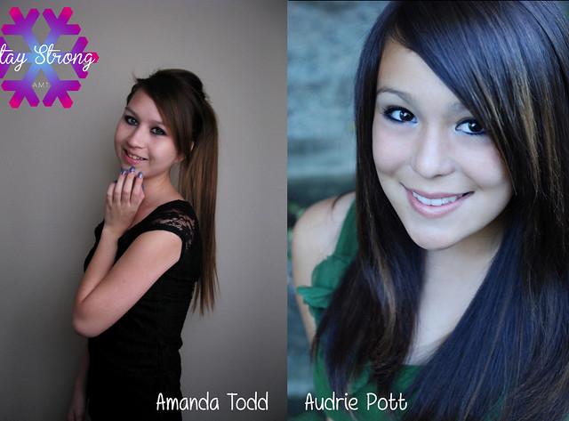 AmandaTodd Audrie Pott