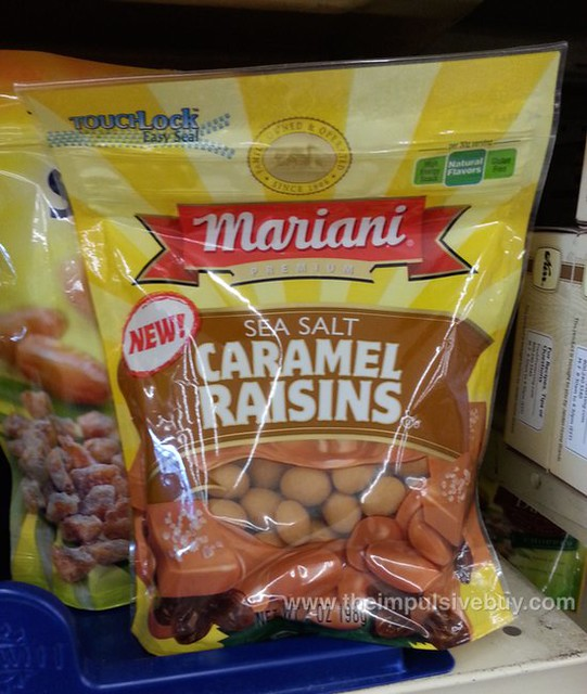Mariani Sea Salt Caramel Raisins