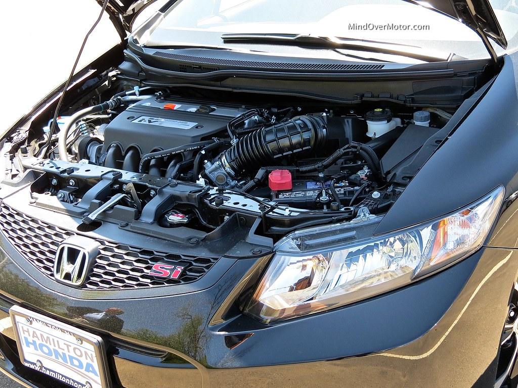 2013 Honda Civic Si Coupe 2.4L VTEC engine