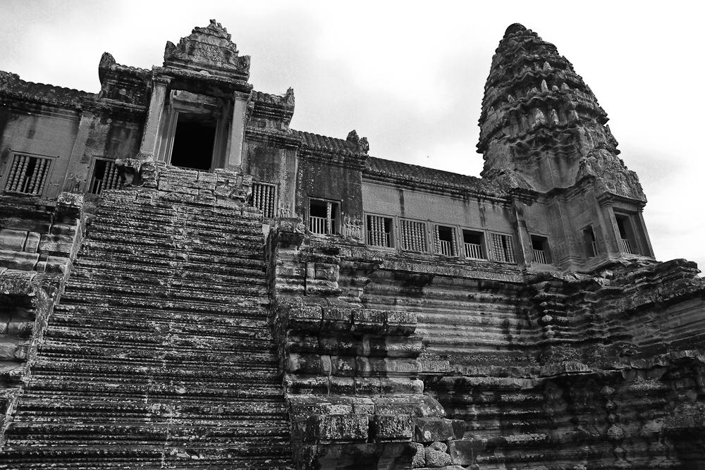 Angkor Wat Steps
