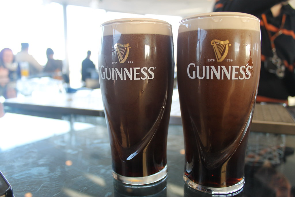 Two pints! in Dublin