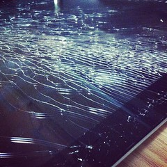 #broken #ipad #screen