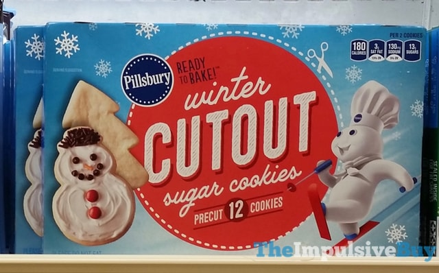 Pillsbury Winter Cutout Sugar Cookies
