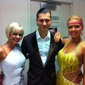 Melanie Hooper, Gleb Savchenko,  Elena Samodanova