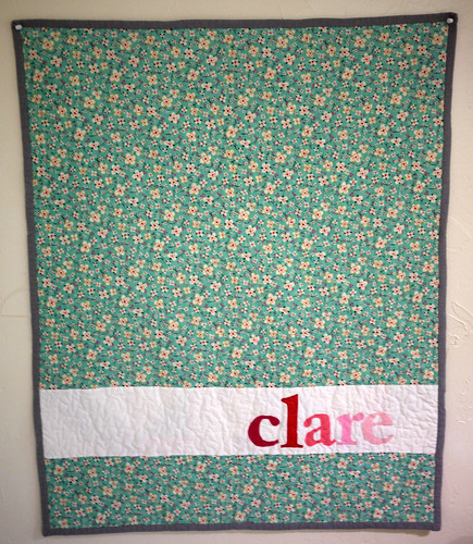 A Quilt for Clare