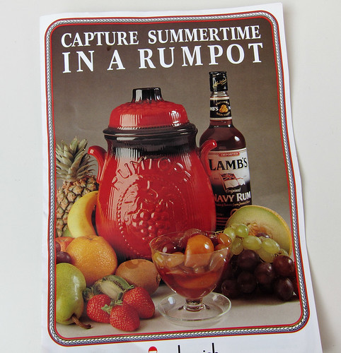 Rumtopf pot instructions