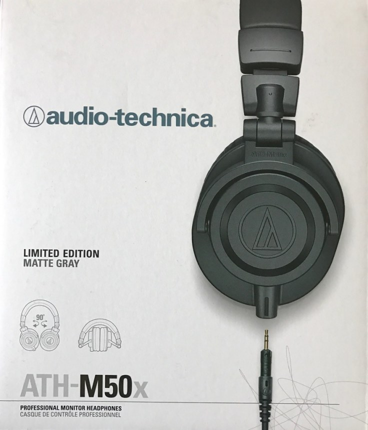 Audio Technica ATH-M50x, Limited Edition Matte Gray