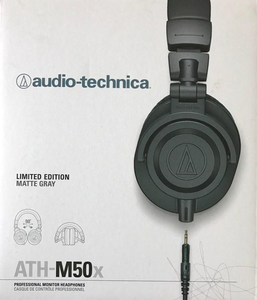 Audio Technica ATH-M50x, Limited Edition Matte Gray