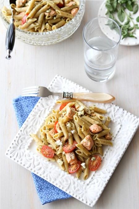 Salmon Herb Pasta Salad