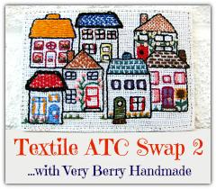 Very Berry Handmade ATC Swap