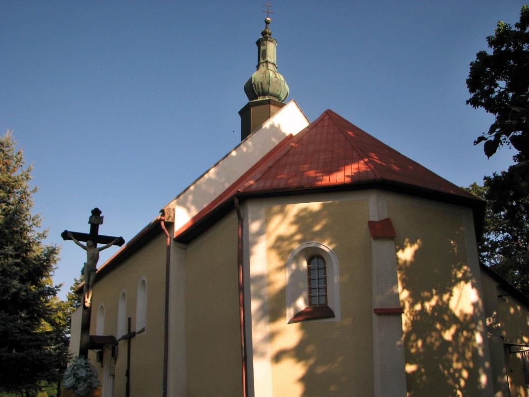 Kostol v Sečiankach