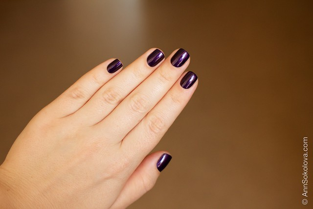 06 Kiko #497 Pearly Indian Violet nail laquer swatches