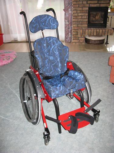 Rollstuhl - fertig