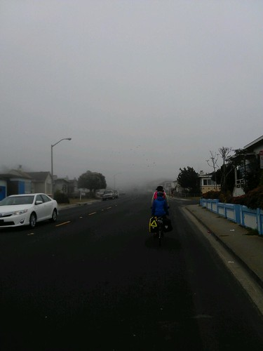 """Finally """"on route"""" for the California leg of our Pacific Coast trip. Daly City sure is lovely. #acapaccoast #fb"""