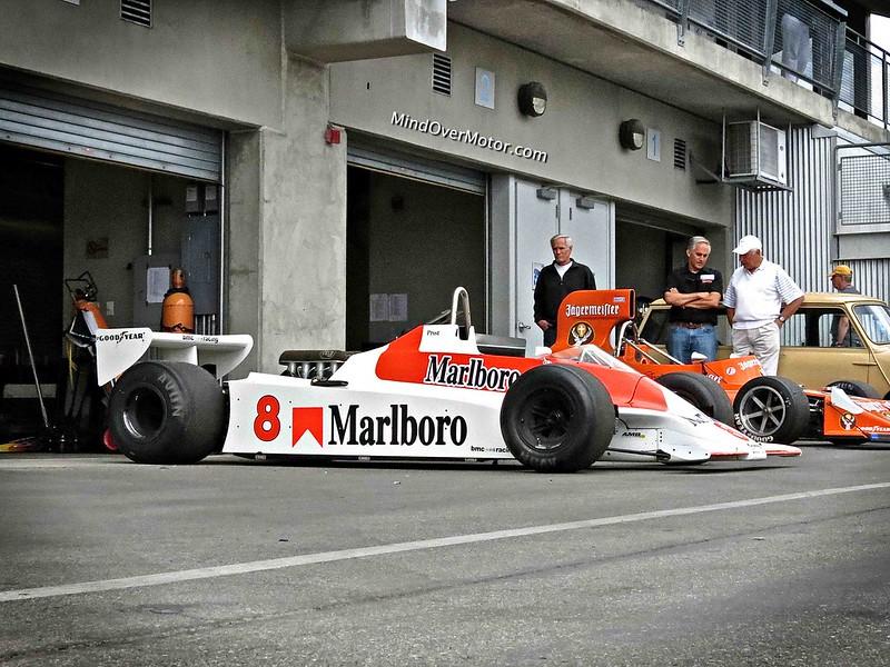 Alain Prost's McLaren F1 Car