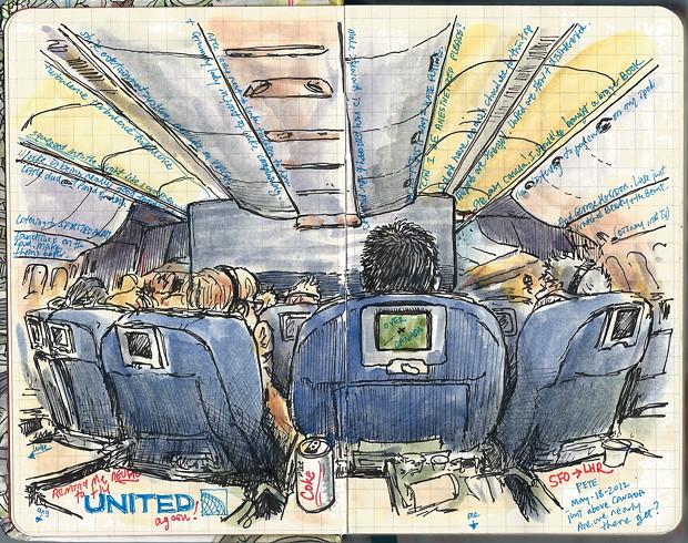 United SFO-LHR
