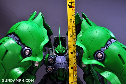 1-100 Kshatriya Neograde Version Colored Cast Resin Kit Straight Build Review (128)