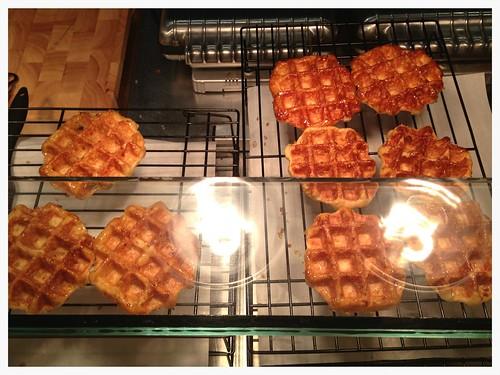 Bangkok waffles