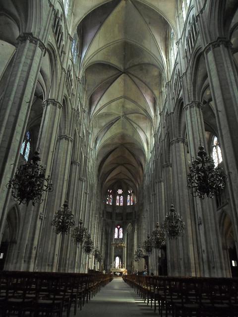Nave, St. Etienne de Bourges
