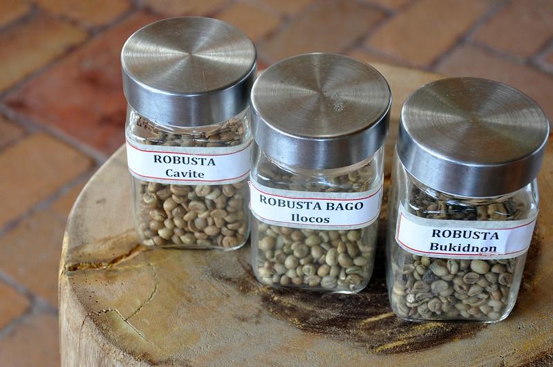 Coffee Beans around the Philippines