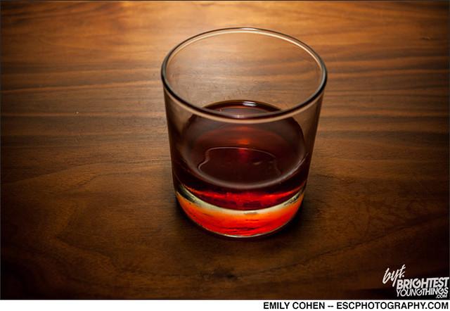Gibson Winter Cocktail Menu