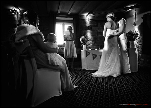 Black and White Wedding Photography - Leica M9 by MatthewOsbornePhotography - Leica Photographer