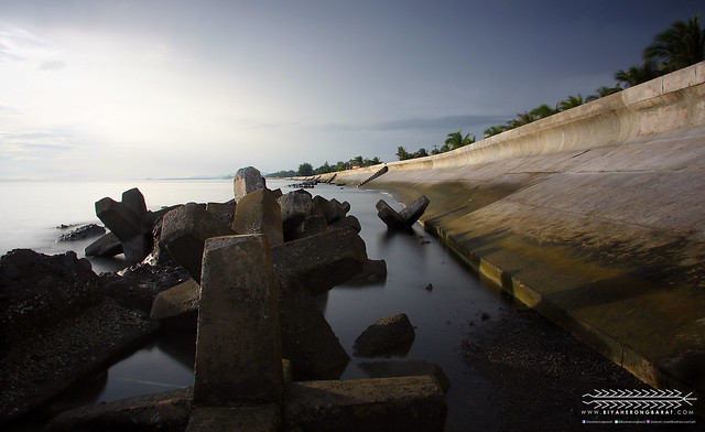 New Washington Aklan, seawall jackstones tambak