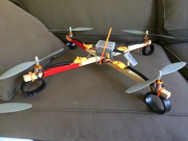 Eddie's combat drone