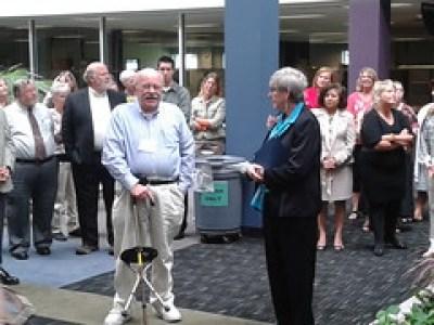 Bill Asp and Nancy Walton