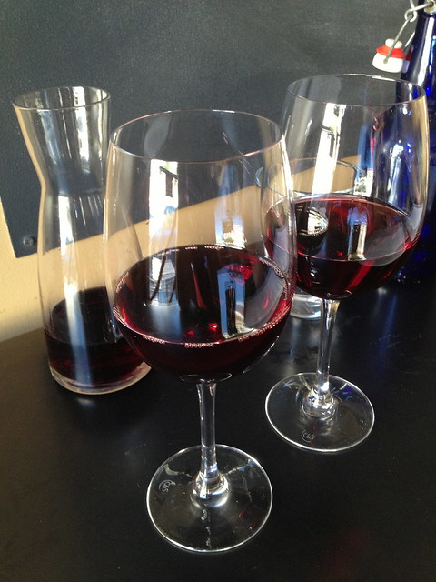 House red wine - Yield Wine Bar