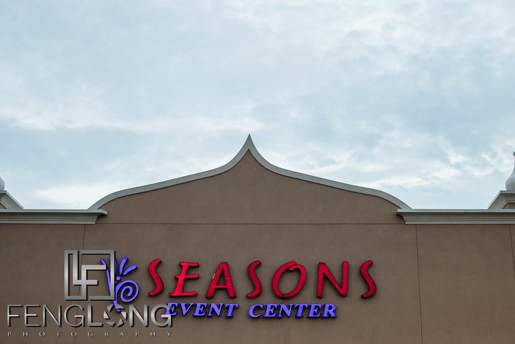 Outside photo of Seasons Event Hall