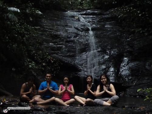 waterfall temburong national park