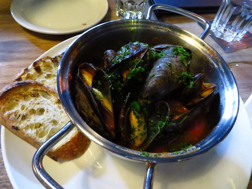 Salt Spring Island Mussels